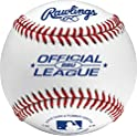 24-Count Rawlings Official League Recreational Baseballs & Bucket