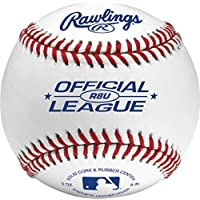 24-Count Rawlings Official League Recreational Baseballs & Bucket