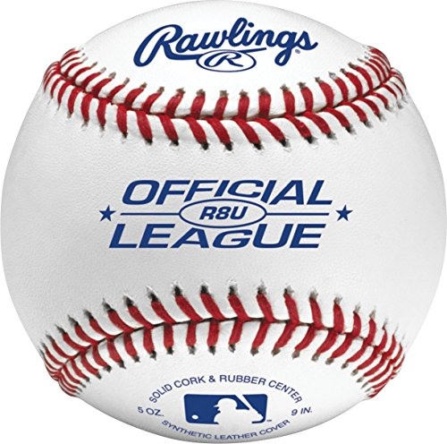Rawlings Official League Recreational Baseballs & Bucket, 24 Count, R8U