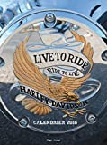 Calendrier mural 2016 Harley Davidson (French Edition)