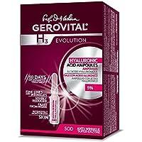 gerovital H3Evolution 229ampollas con Ácido hialurónico Alta concentración de 5%, 30+ antienvejecimiento–10ampollas X 2ML
