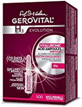GEROVITAL H3 EVOLUTION  Hyaluronic Acid Ampoules with Superoxide Dismutase for Anti-Aging, 2ml x 10