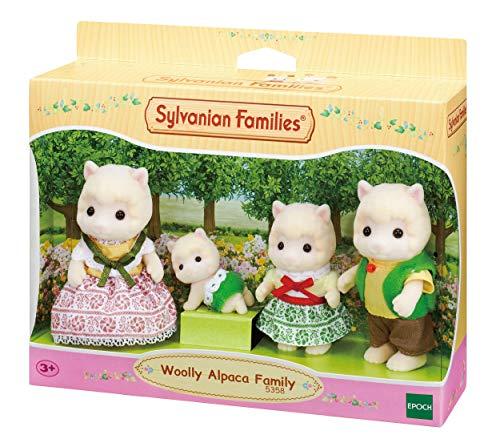 Sylvanian Families 5358 Alpaka Familie - Figuren für Puppenhaus