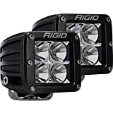 Rigid Industries 202113 LED Light (D-Series Pro, 3', Flood Beam, Pair, Universal), 2 Pack
