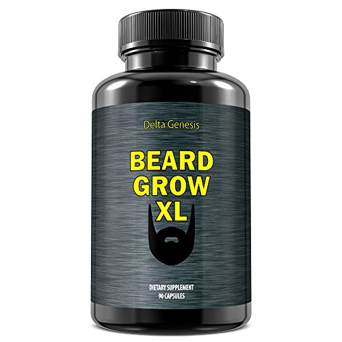 Beard Grow XL - Facial hair supplement and growth vitamins