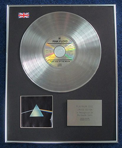 Century Music Awards PINK FLOYD - Disco Platinum in edizione limitata - The Dark Side of the Moon