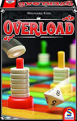 Preisvergleich Produktbild Schmidt Spiele 49350 Overload,  Stapel-und Laufspiel