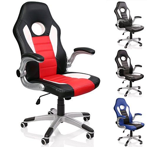 TRESKO® Silla de oficina – ergonómica – mecanismo de inclinación