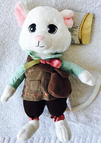 L'Alice de Disney Tim Burton dans le pays des merveilles, le jouet en peluche doux blanc Dormouse White. Authentique Disney d'Alice à travers le miroir
