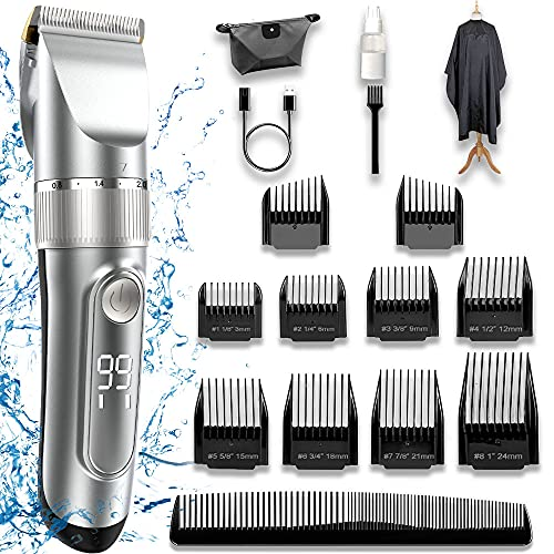 Hair Clippers Man,Hair Clippers for Kids Hair Trimmer Set Cordless...