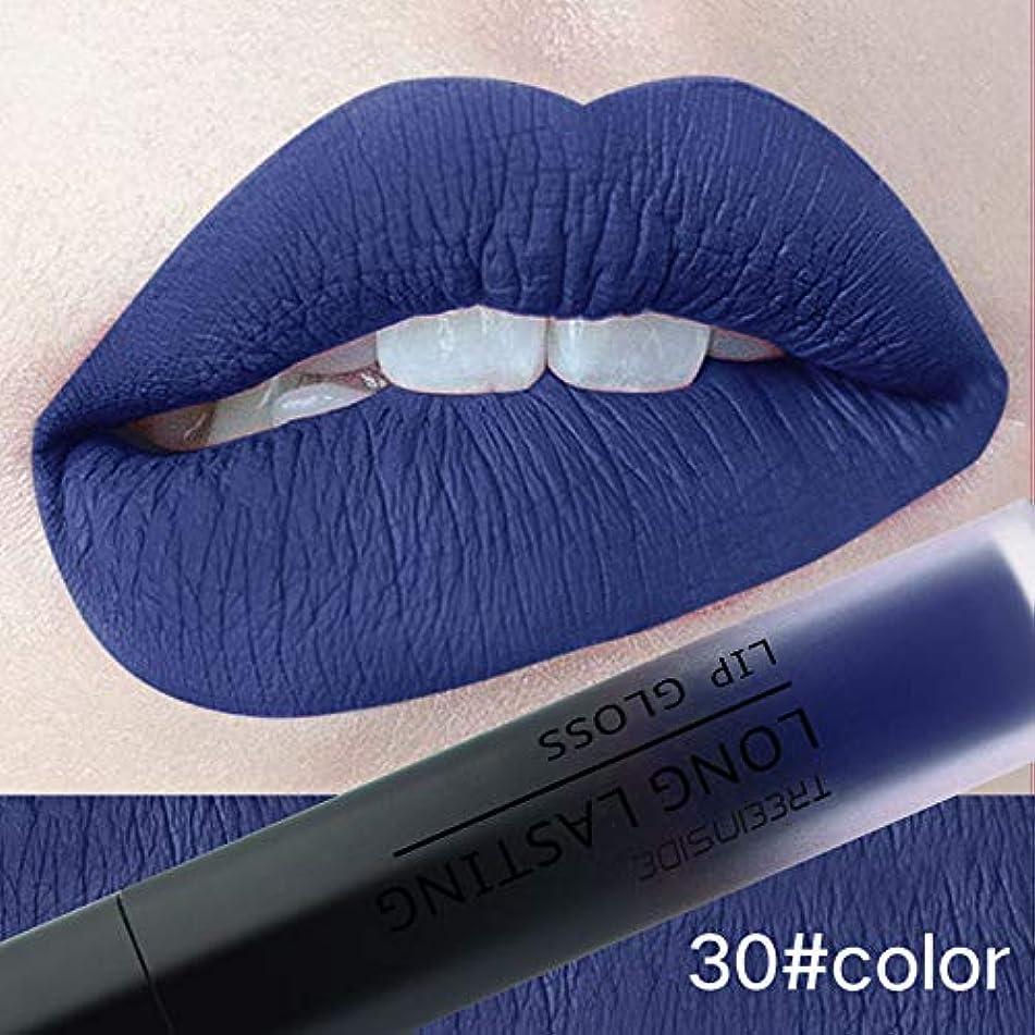 24 Color Matte Liquid Lipstick Long-Lasting Makeup Pink Blue Red Lip Gloss Cosmetic Beauty Waterproof Make Up Mate Nude Lipstick 30