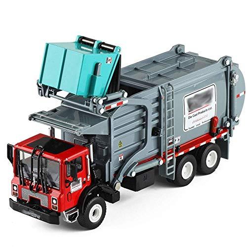 QZH Truck ToysSanitation und Clean Müllwagen Toy Alloy Version des Materials Truck Kinderspielzeug Autosimulation...
