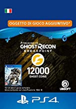 Ghost Recon Breakpoint - 9600 (+2400) Ghost Coins 12000 Coins | Codice download per PS4 - Account italiano