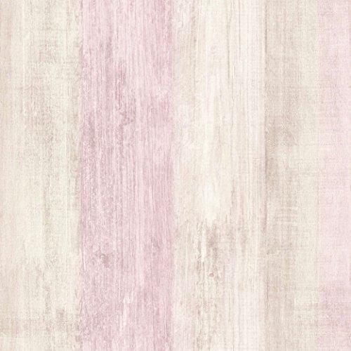 DansLemur 2051-5 - Papel pintado TNT, textura madera, color beige