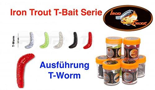 Sänger Top Tackle Systems Iron Trout T-Bait Serie (Forellenköder T-Worm / 2,5cm), Ködertyp:RS