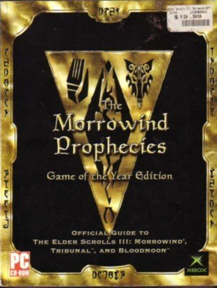 Morrowind Game of the Year Official Guide [Anglais]