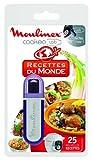 Moulinex Clé USB de 25 Recettes Du Monde XA600111 Accessoire Cookeo Officiel Compatible avec...