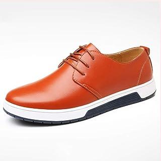 De enige goede kwaliteit Ademende Outdoor Sneaker Voor Mannen Effen Kleur Non-slip Lace Up Ronde teen Zachte Comfortabele ...
