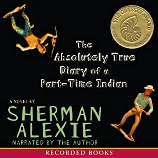 The Absolutely True Diary of a Part-Time Indian audiobook cover art