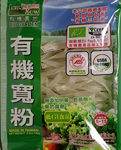Bio Garden (龙口粉丝) Long Kow Organic broad Been Threads Noodle -Wild 5.2oz