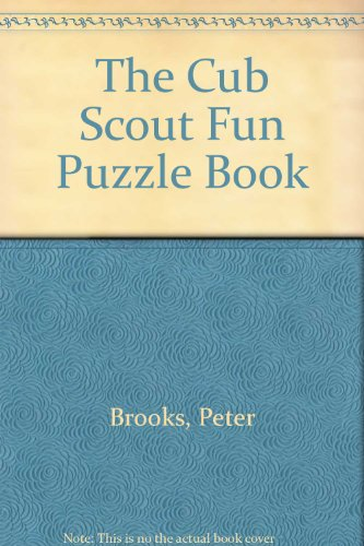 The Cub Scout Fun Puzzle Book