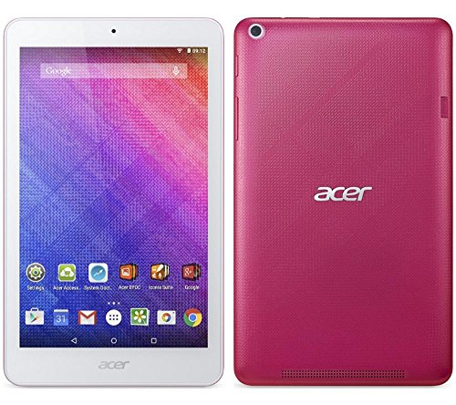 Acer Iconia One B1-820 8-Inch Tablet - (Intel Atom Z3735G 1.33 GHz, 1 GB RAM, 16 GB Memory, Camera, Android 4.4) (Blue)