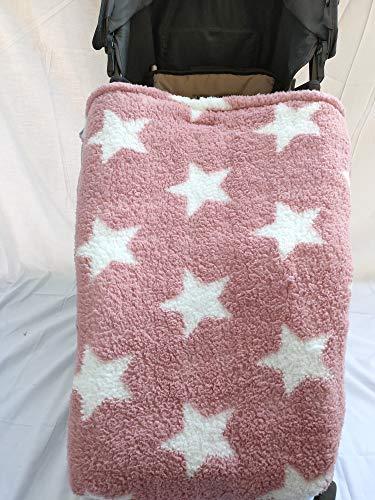Moon Bebe Universal baby voetenzak kinderwagen roze