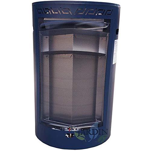 Suinga Estufa DE Gas BUTANO de Llama Azul. Potencia 2000W-4000W, Medidas 43x49x74 cm