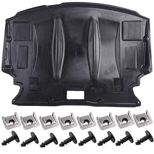 AUTOPA 51717033761 Front Center Engine Splash Shield Guard Cover Kit for BMW 5 Series E60 E61