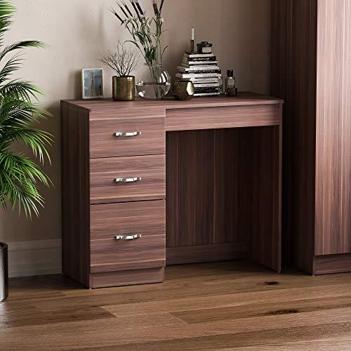 Vida Designs Schubladenboxen, Mitteldichte Holzfaserplatte, Walnuss, Standard