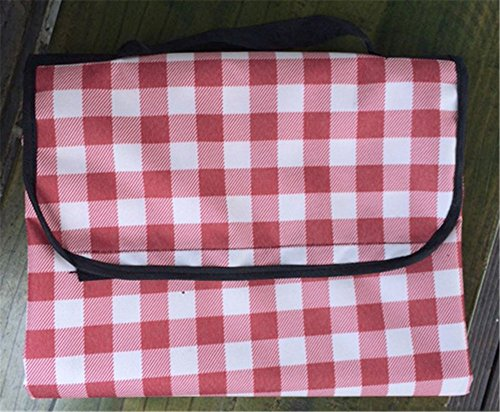 MONEYY The Picnic mat red and white format outdoor portable moisture pad tent picnic the picnic camping mats 300*457cm