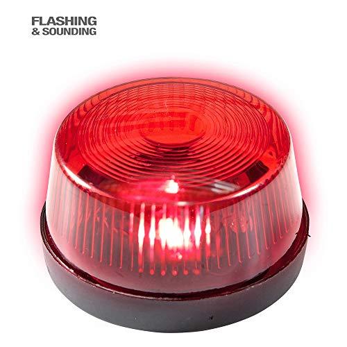 Widmann 08171 knipperend waarschuwingslicht, rood