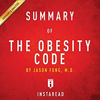 Summary of The Obesity Code: by Jason Fung | Includes Analysis cover art