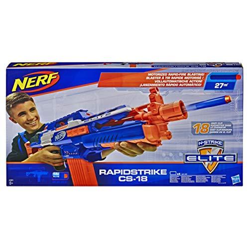 Hasbro- Nerf N-Strike Elite Rapidstrike - Pistola motorizada, Color (A3901EUB) , color/modelo surtido