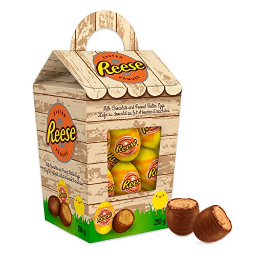REESE Chocolate Easter Eggs, Peaut Butter Candy, Hen House, 255 Gram