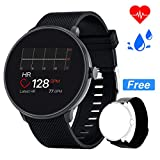 Bebinca Smartwatch Fitness Tracker Uomo Donna Notifiche Facebook/Whatsapp Contapassi Pressione...