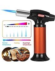 Inkbird BG-KT01 Keukenbrander Flambeerbrander,Professionele Butaan Gasbrander met Veiligheidsslot voor Solderen, Bakken,Lassen(Butaan Gas Niet Meegeleverd)