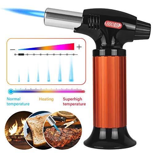 INKBIRD BG-KT01 Cucina Torcia Cucina Accenditore Professionale Accenditore a Torcia Bruciatore Cucina a Gas per Crema Brulee, Barbecue, Cucinare, DIY, Saldatura