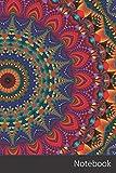 Notebook: Caleidoscopio, Mandala, Modelo, Kaleydograf Cuaderno / Diario / Libro de escritura / Notas - 6 x 9 pulgadas (15.24 x 22.86 cm), 150 páginas, superficie brillante.
