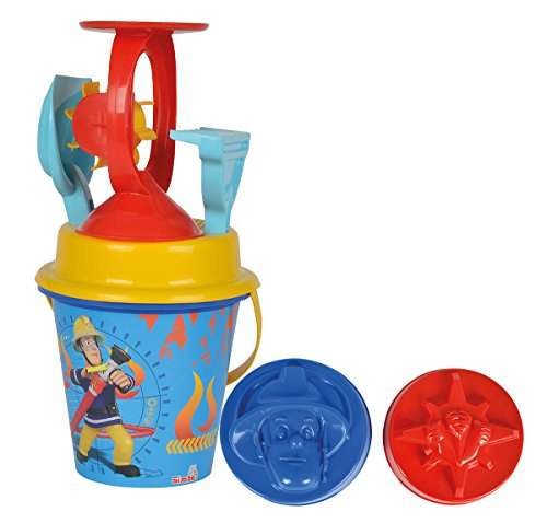 Simba - Sandspielzeug in Blau/Gelb/Rot