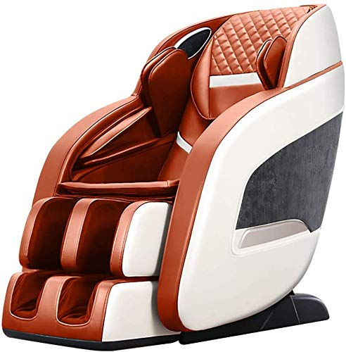 Learn More About SISHUINIANHUA Massage Chair, Full Body Air Massage, 3-Row-Footroller Roller Massage...