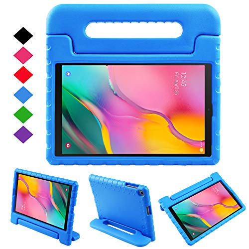 NEWSTYLE Case for Samsung Galaxy Tab A 10.1 2019,Kids Shock Proof Convertible Handle Light Weight Super Protective Stand Cover Case for Galaxy Tab A 10.1 inch SM-T510/SM-T515 2019 Tablet (Blue)