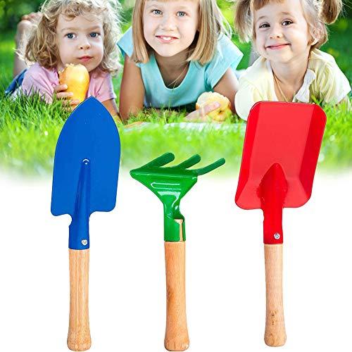 Jorzer - Gartengeräte für Kinder in Bunt, Größe 23CM/20CM/16CM