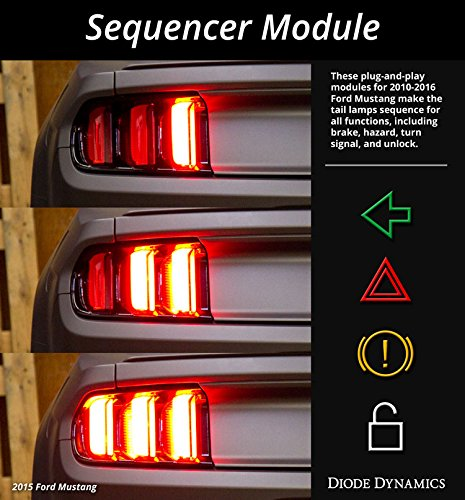 Diode Dynamics Tail Light Sequencer compatible with Ford Mustang 2010-2018
