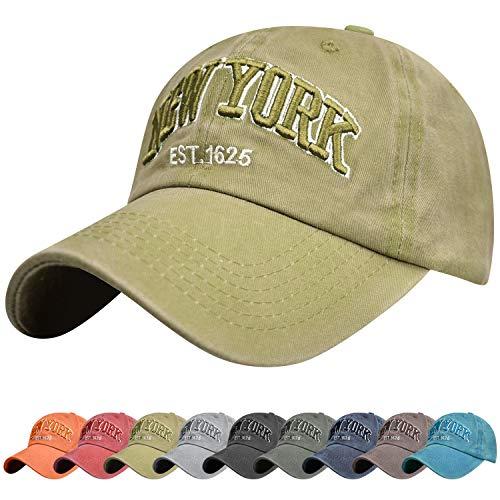 Tuopuda Gorra de Beisbol Sombrero de Gorra Ajustable con Bordado Now York...