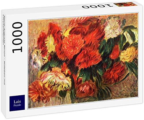 Lais Puzzle Pierre-Auguste Renoir - Stilleben mit Chrysanthemen 1000 Teile