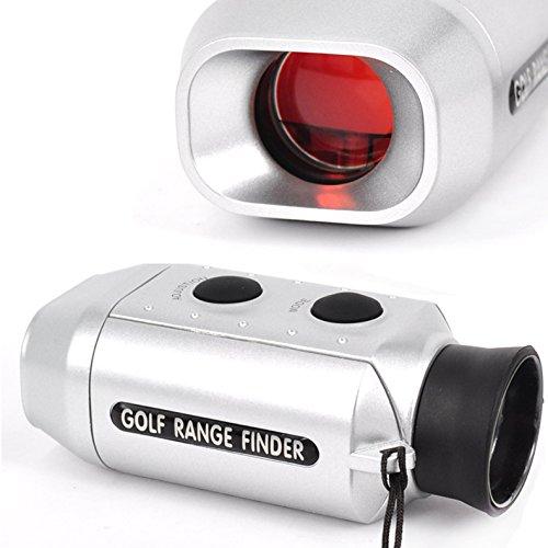 Hrph Cooligg 7 x Zoom Digital Golf Range Finder Golfscope Scope Yards Measure Distancer with Bag for...