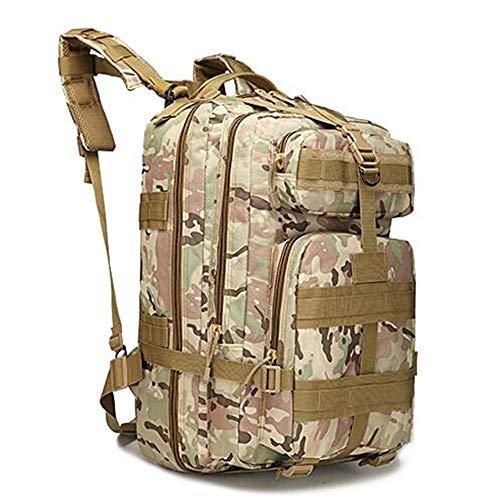 BEI^BAO 40L Rucksack Oxford Canvas Sport wasserdichte Armee Computer Tasche, Tarnung