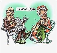 老婆透明シリコンクリアラバースタンプスクラップブッキングDIYかわいいパターンフォトアルバム紙カードの装飾漫画カバ