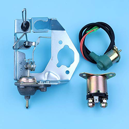 Replacement Parts for Yuton Manual Choke Starter Relay Carb Solenoid Valve Kit for Honda GX390 GX340 11HP 13HP 188F GX270 GX240 8HP 9HP Generator 5KW-6.5KW